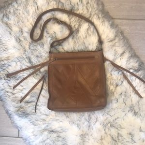 Lucky Brand Crossbody Leather Purse - Boho
